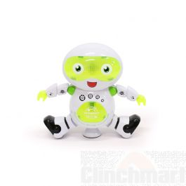TOYSINSEL Dancing Robot With Songs, Musical Toy With Multi Color Entertaining Flashing Lights